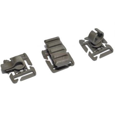 FMA 3 Type For 25mm MOLLE Webbing ( OD )