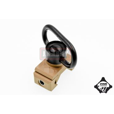 FMA DD Sling Swivel For 1913 20mm Mount ( DE )