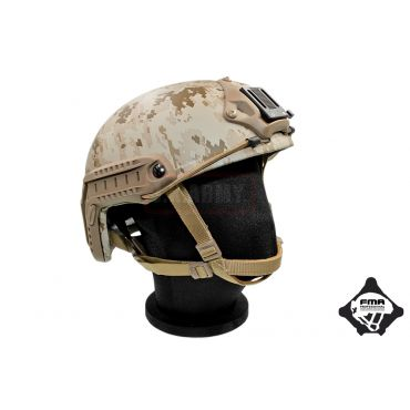 FMA JKA Airsoft Dummy Helmet Aramid Fiber Version MH Type ( Stripes AOR1 ) ( LXL )