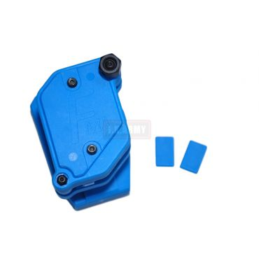 FMA Multi Angle Speed Mag Pouch fit 1.5 inch Belt ( IPSC ) ( Blue ) ( Free Shipping )