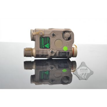 FMA PEQ-15 Upgrade Version LED White Light + Green Laser With IR Lenses ( DE )