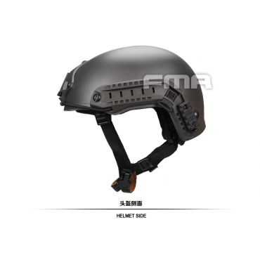 FMA Airsoft Helmet MH Type ( L/XL ) ( Mass Grey )