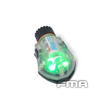 FMA Snail Strobe Light ( Green , Type2 , Black )