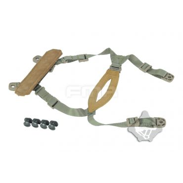 FMA MICH / CP Helmet Retention System ( Tan )