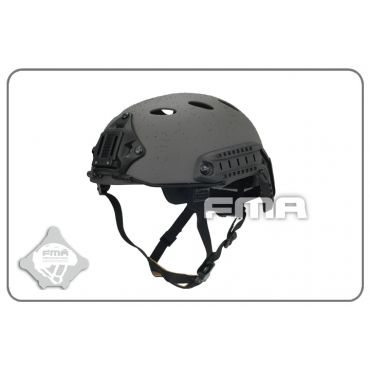 FMA FAST Carbon Fiber Airsoft Helmet-PJ  ( L/XL ) ( Mass Grey )