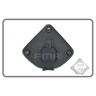 FMA Plastic Helmet Night Shroud Attach Middle ( BK )