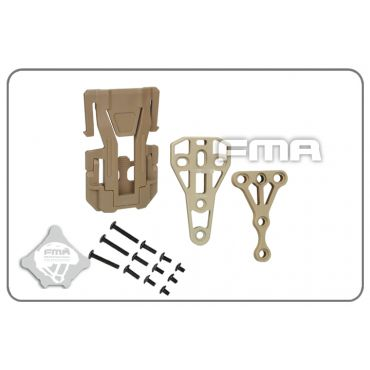 FMA Trifecta Connection Auxiliary Pouch For Molle DE