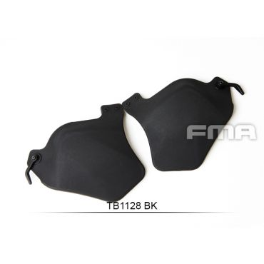 FMA Plastic Side Covers with Pad ( BK )