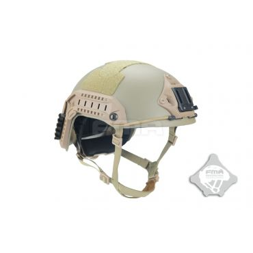 FMA Maritime Airsoft Dummy Helmet Aramid Fiber Version MT Type ( DE ) ( M/L )