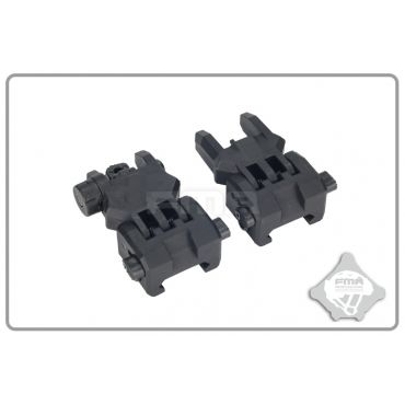 FMA Front and back sight GEN 3 ( BK )