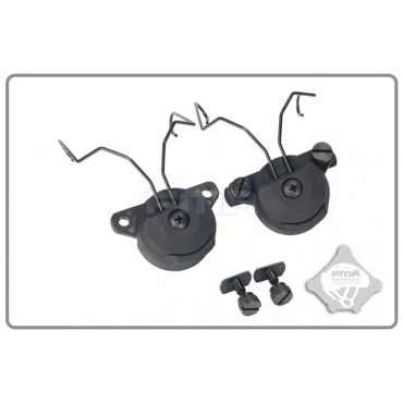 FMA EX Headset and Helmet Rail Adapter Set GEN2 BK
