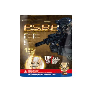 G&G 0.25g 6mm Perfect Spherical BB 1kg Pack ( Brown, 4000rd )