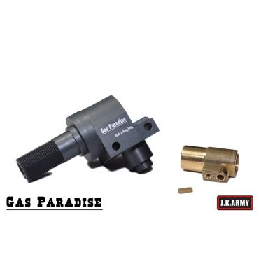 Gas Paradise CNC Aluminum Chamber For Tanaka M700 (Using Vsr-10 Style Hop Up Bucking)