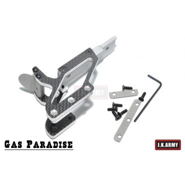 Gas Paradise IMM Carbon Fiber C-More Mount ( LSN )
