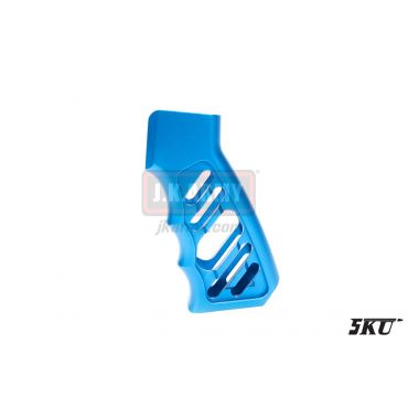 5KU CNC LWP Grip for M4 Airsoft GBB Rifle ( Blue )