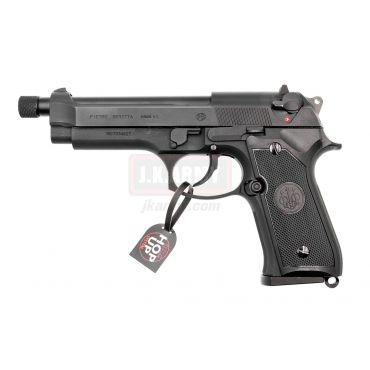 GH Beretta M92AS Assassin 6mm GBB Pistol Airsoft ( Licensed Marking / Black )