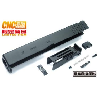 Guarder 7075 Aluminum CNC Slide for Marui Model 17 2016 Ver.(Black)