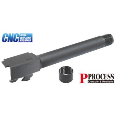 Guarder Steel Threaded Outer Barrel for Marui Model 17 ( 14mm CCW )