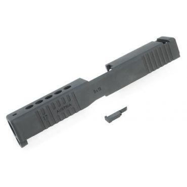 Guarder Aluminum Slide for TM Model 17 Custom II (Black)