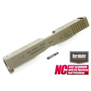 Guarder Aluminum Slide for TM Model 17 Desert Storm (Cerakote FDE)
