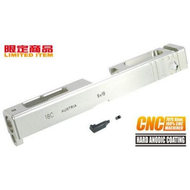Guarder 7075 Aluminum CNC Slide for Marui Model 1.8C (Silver)