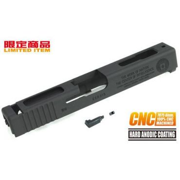 Guarder 7075 Aluminum CNC Slide for Marui G18C CIA 60th (BK)