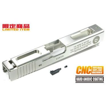 Guarder 7075 Aluminum CNC Slide for Marui G18C CIA 60th (Silver)