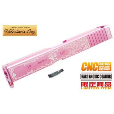 Guarder 6061 Aluminum CNC Slide for KJ G19 (Limited Edition for Valentine's day)