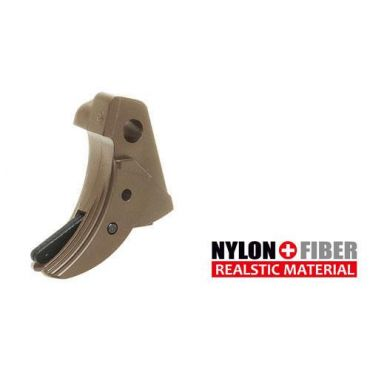 Guarder Ridged Trigger For G Model GBB (TAN)