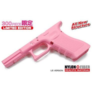 Guarder Original Frame for TM / KJ / Stark Arms Model 17 / 18C, UMAREX G17 GBB ( US. Pink ) - 2018 New Ver.
