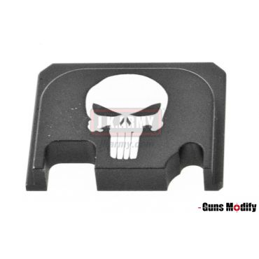 Guns Modify 6061Aluminum CNC GBBU Rear Plate for Model G Series G17 etc. ( GM0049-12 )