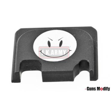 Guns Modify 6061Aluminum CNC GBBU Rear Plate for Model G Series G17 etc. ( GM0049-13 )