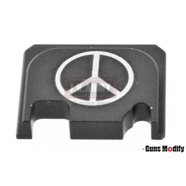 Guns Modify 6061Aluminum CNC GBBU Rear Plate for Model G Series G17 etc. ( GM0049-17 )
