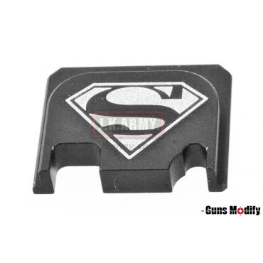 Guns Modify 6061Aluminum CNC GBBU Rear Plate for Model G Series G17 etc. ( GM0049-18 )
