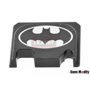 Guns Modify 6061Aluminum CNC GBBU Rear Plate for Model G Series G17 etc. ( GM0049-19 )
