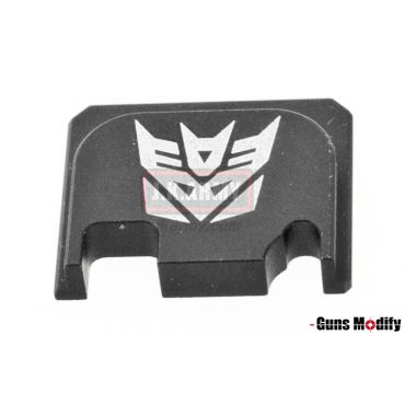Guns Modify 6061Aluminum CNC GBBU Rear Plate for Model G Series G17 etc. ( GM0049-21 )