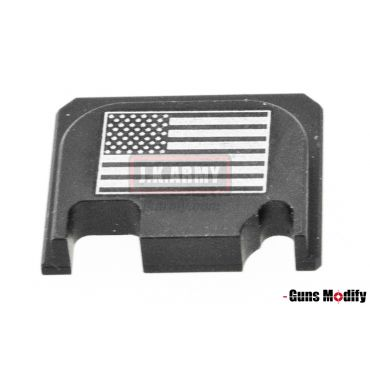 Guns Modify 6061Aluminum CNC GBBU Rear Plate for Model G Series G17 etc. ( GM0049-22 )
