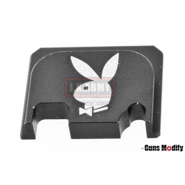 Guns Modify 6061Aluminum CNC GBBU Rear Plate for Model G Series G17 etc. ( GM0049-23 )