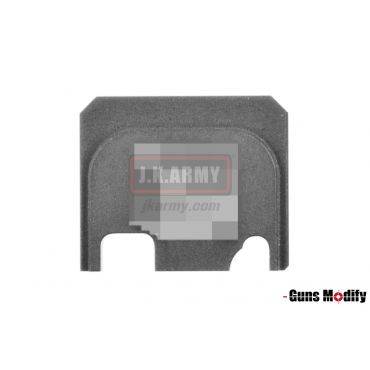 Guns Modify 6061Aluminum CNC GBBU Rear Plate for Model G Series G17 etc. ( GM0049-26 S Style )