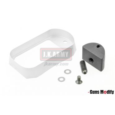Guns Modify S Style Magwell For TM Model 17/18 ( Silver )