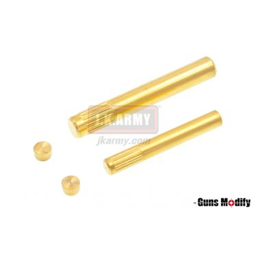 Guns Modify Stainless Steel Pin Set For TM G Series ( Gold - Tin-Nitride )