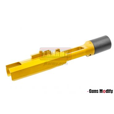 Guns Modify Stainless CNC Light Weight Zero Bolt Carrier For TM MWS M4 Nitride ( Gold )
