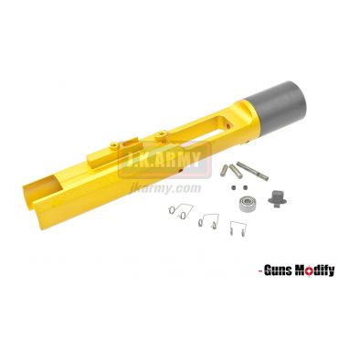 Guns Modify 7003T6 Aluminum CNC Speed Zero Bolt Carrier For TM MWS M4 ( Gold )
