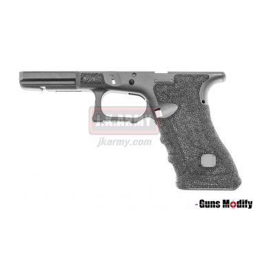 Guns Modify Polymer Gen3 RTF Frame for TM G Model with S Style CNC Cut ( Black ) ( G Series )