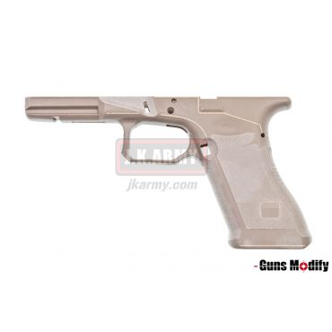 Guns Modify Polymer Gen3 RTF Frame for TM G Model with AGC Style CNC ( FDE ) ( G Series )