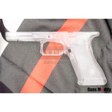 Guns Modify Polymer Gen3 RTF Frame for TM G Model with AGC Style CNC ( Transparent ) ( G Series )
