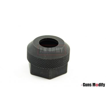 Guns Modify S Style Steel CNC Thread Protector 14mm CW ( BK )