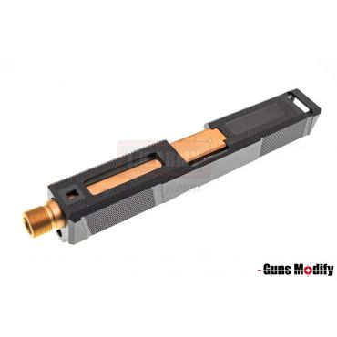 Guns Modify UT Style CNC Aluminum Slide Barrel Set for TM Model 1.9