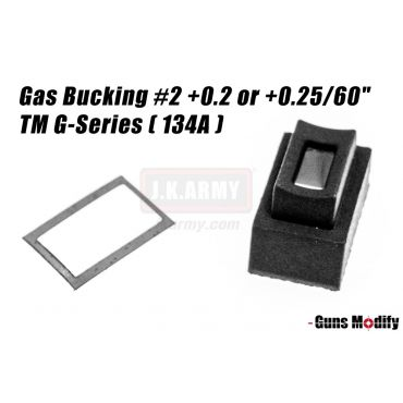 "Guns Modify Magazine Gas Bucking #2 +0.2 or +0.25/60"" TM G-Series ( 134A )"