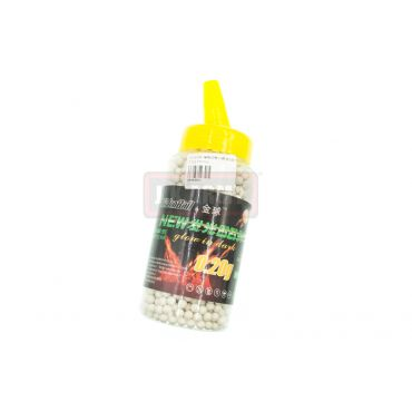 GoldenBall 0.20g Dark Knight Tracer BBs 2000rds ( 40 Degree Hardness ) ( Bottle )